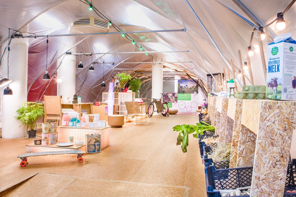 Pop-up store met Biobased artikelen in Bergen op Zoom