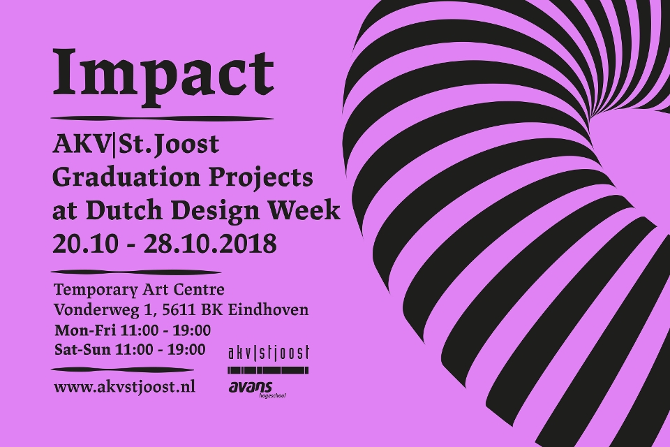 AKV|St.Joost presenteert 8 alumni op de Dutch Design Week
